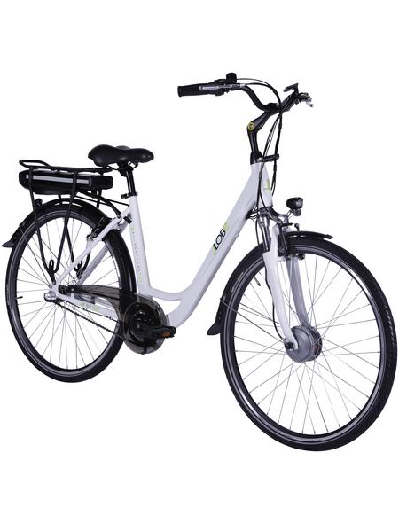 "LLOBE E-Citybike »Metropolitan Joy«, 28 "", 3-Gang, 8 Ah"