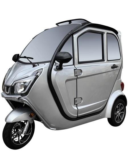 DIDI THURAU E-Kabinenfahrzeug »eLizzy Premium«, max. 25 km/h, Reichweite: 70 km, silberfarben