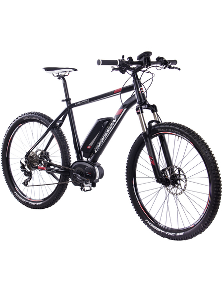 "CHRISSON E-Mountainbike »E-Mounter 2.0«, 27,5"", 10-Gang, 11 Ah"