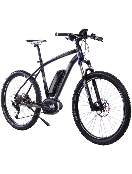 "CHRISSON E-Mountainbike »E-Mounter 2.0«, 27,5 "", 10-Gang, 13.4 Ah"