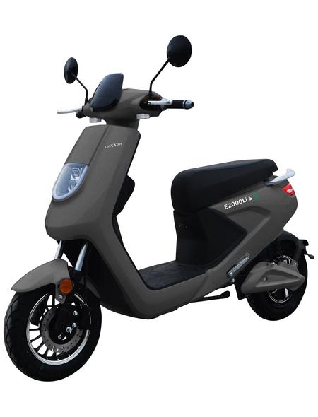 LuXXon E-Scooter »E2000«, 45 km/h (max.), 2000 W