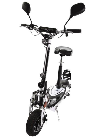 SXT SCOOTERS E-Scooter »SXT 1000«, max. 40 km/h, Reichweite: 25 km, weiß/schwarz