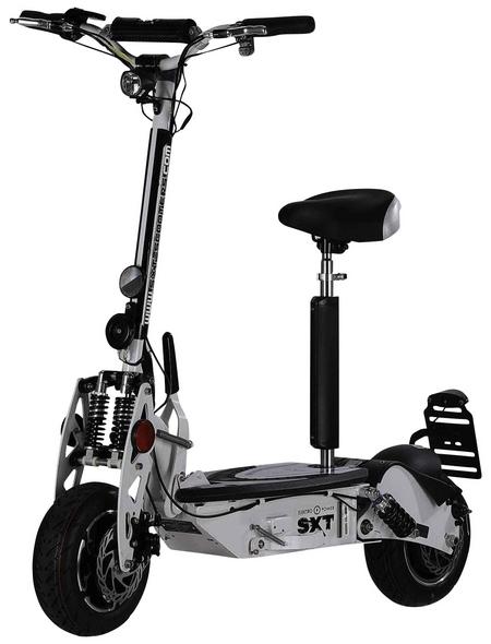 SXT SCOOTERS E-Scooter »SXT 1000«, max. 40 km/h, Reichweite: 60 km, weiß