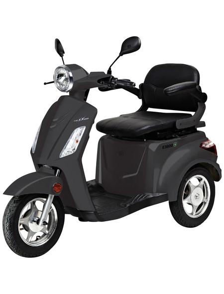 LuXXon E-Trike »E3800«, max. 20 km/h, Reichweite: 60 km, schwarz