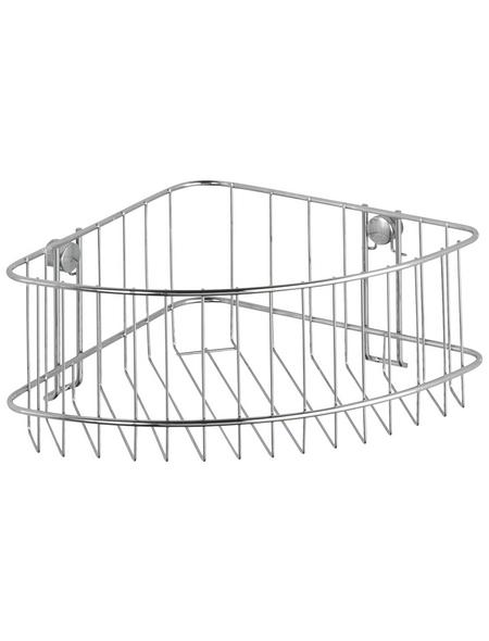 WENKO Eckablage, BxH: 26,5 x 10 cm, Stahl