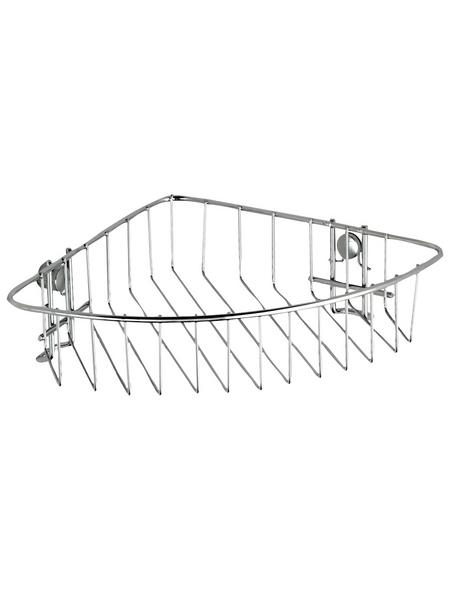 WENKO Eckablage, BxH: 26,5 x 6 cm, Metall