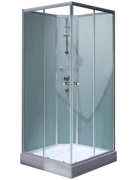 SCHULTE Eckdusche »Korfu II«, BxTxH: 89x89x202 cm