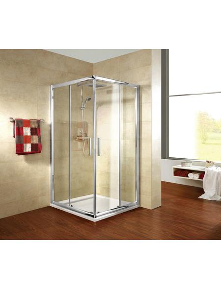 SCHULTE Eckeinstieg »Kristall Trend«, BxTxH: 90x90x185 cm