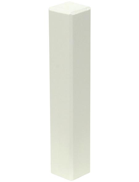 FN NEUHOFER HOLZ Eckenstäbchen, (2 Stk.) aus Kiefernholz, für Leisten bis 19 mm Abdeckmaß und 115 mm Höhe