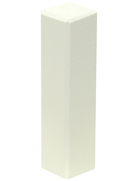 FN NEUHOFER HOLZ Eckenstäbchen (2 Stk.) aus Kiefernholz, für Leisten bis 19 mm Abdeckmaß und 80 mm Höhe