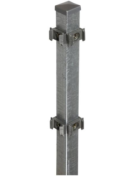 FLORAWORLD Eckpfosten »Classic«, Stahl, BxLxT: 4 x 150 x 4 cm