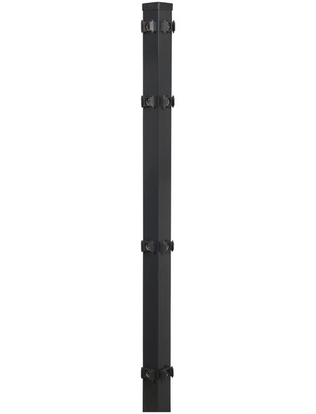 FLORAWORLD Eckpfosten »Comfort«, Stahl, BxHxL: 6 x 6 x 160 cm