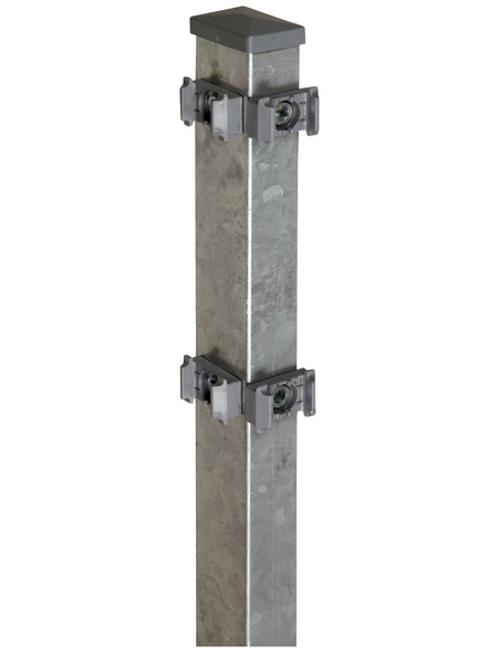 FLORAWORLD Eckpfosten »Comfort«, Stahl, BxLxT: 6 x 160 x 4 cm