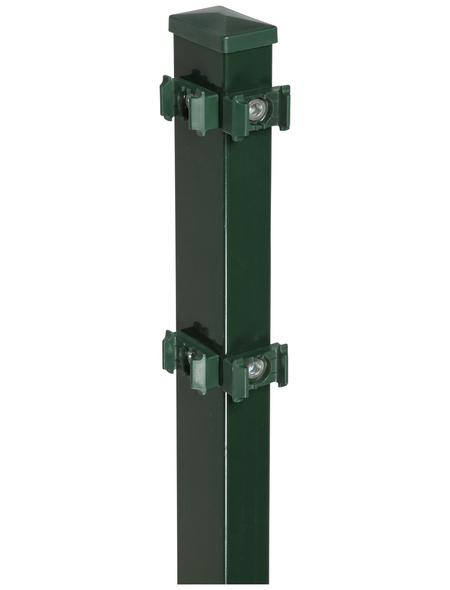 FLORAWORLD Eckpfosten »Comfort«, Stahl, BxLxT: 6 x 180 x 4 cm