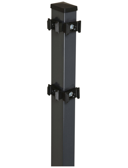 FLORAWORLD Eckpfosten »Comfort«, Stahl, BxLxT: 6 x 200 x 4 cm