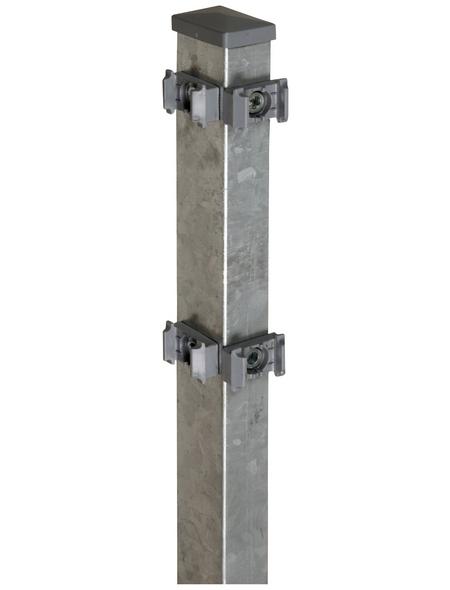 FLORAWORLD Eckpfosten »Comfort«, Stahl, BxLxT: 6 x 220 x 4 cm