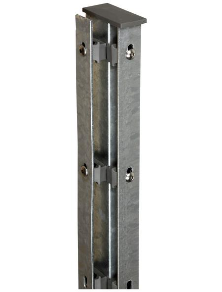 FLORAWORLD Eckpfosten »Premium«, Stahl, BxLxT: 6 x 220 x 4 cm