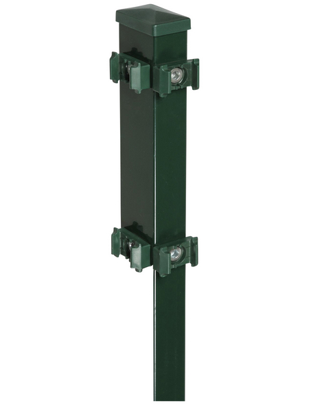FLORAWORLD Eckpfosten, Stahl, BxHxL: 6 x 4 x 120 cm