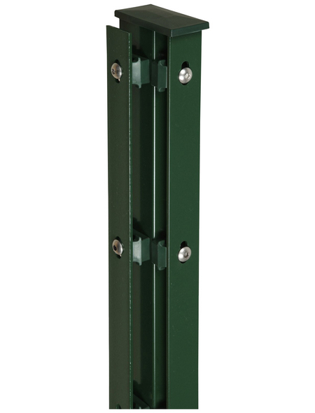 FLORAWORLD Eckpfosten, Stahl, BxHxL: 6 x 4 x 140 cm