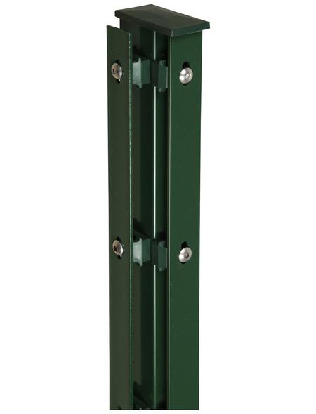FLORAWORLD Eckpfosten, Stahl, BxHxL: 6 x 4 x 160 cm