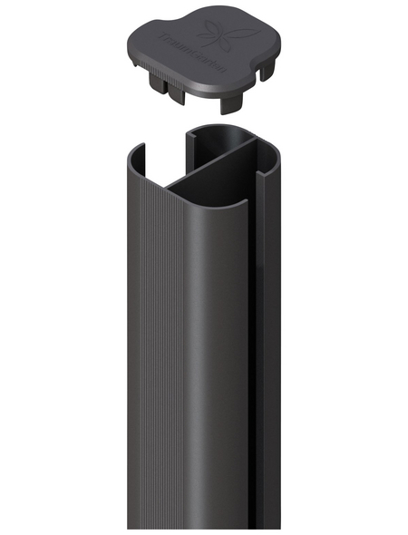 TraumGarten Eckpfosten »System «, Metall, BxLxT: 7 x 240 x 7 cm