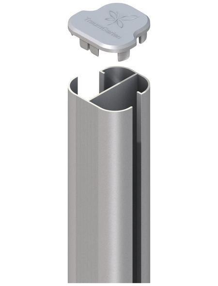 TraumGarten Eckpfosten »System «, Metall, BxLxT: 7,2 x 192,5 x 6,6 cm