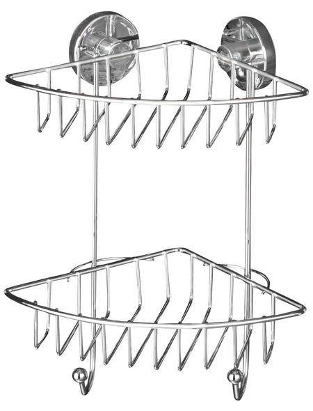 WENKO Eckregal »Bari«, BxH: 22,5 x 29,5 cm, Stahl