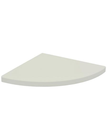 Duraline Eckregal »CSR XS2«, BxT: 30 x 30 cm, Mitteldichte Faserplatte (MDF), weiß