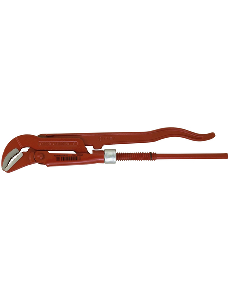 CONNEX Eckrohrzange, Länge: 24 cm, Chrom-Vanadium-Stahl