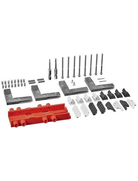 WINDHAGER Eckverbinder, Aluminium, silberfarben