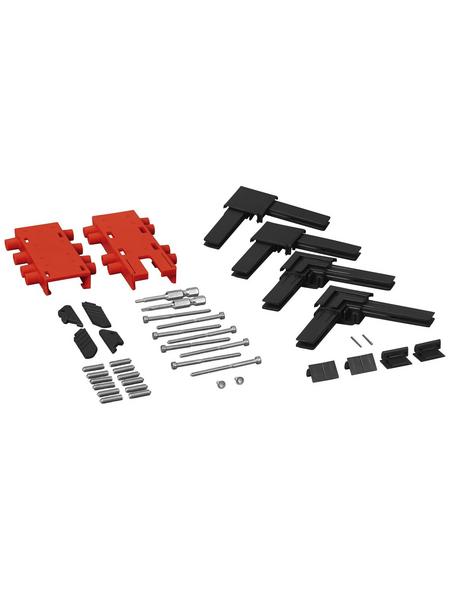 WINDHAGER Eckverbinder, Kunststoff, grau