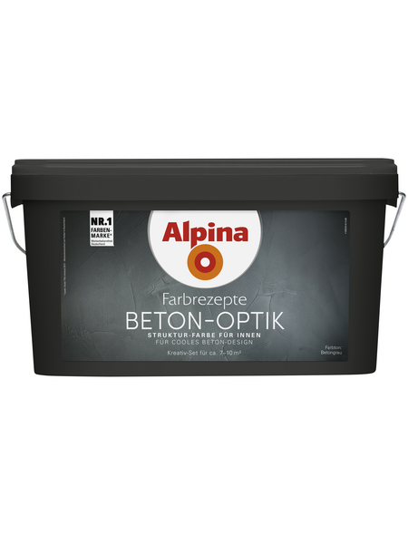 ALPINA Effektfarbe »Farbrezepte«, Betongrau