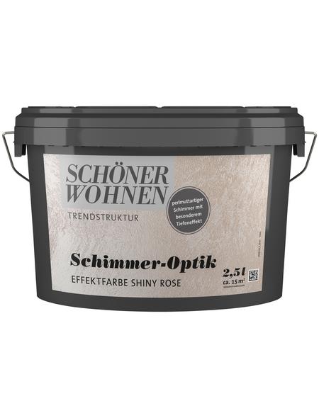 SCHÖNER WOHNEN FARBE Effektfarbe »Trendstruktur« in Schimmer-Optik, smaragdgrün, 2,5 l