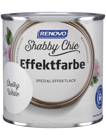 RENOVO Effektlack »Shabby Chic«, Chalky White, seidenmatt