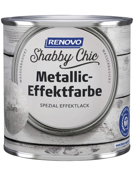 RENOVO Effektlack »Shabby Chic«, Silber, seidenmatt