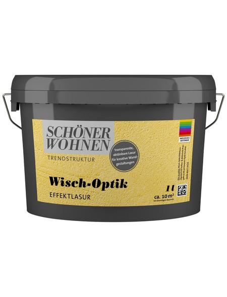SCHÖNER WOHNEN FARBE Effektlasur »Trendstruktur«, in Wisch-Optik, transparent, 1 l