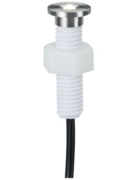 PAULMANN Einbauleuchte »Plug & Shine MicroPen II«, 1,1 W, IP65, warmweiß
