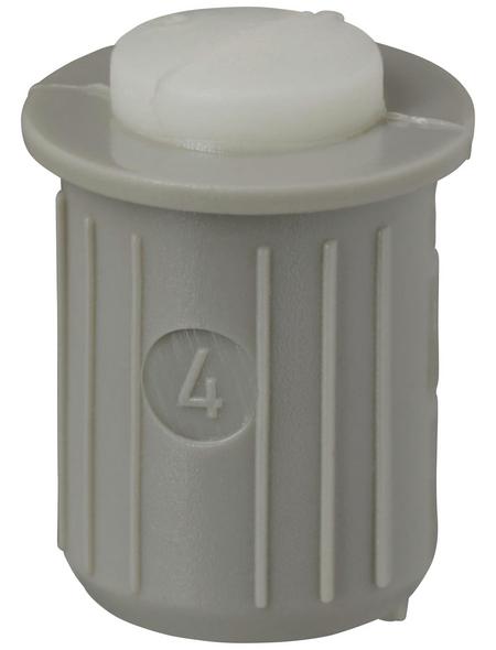 HETTICH Einbohrpuffer, Kunststoff, Ø 8 x 12,5 mm, 20 St.