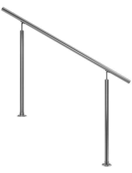 DOLLE Eingangsgeländer, Edelstahl, HxL: 100 x 150 cm