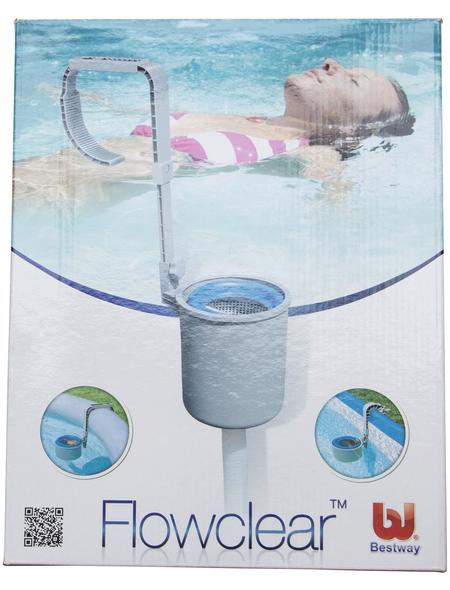 BESTWAY Einhängeskimmer für Stahlwand und Fast Set Pools, Kunststoff