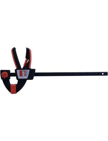 BESSEY Einhandzwinge, Spannweite: 300 mm, Glasfaserverstärkter Kunststoff (GFK)