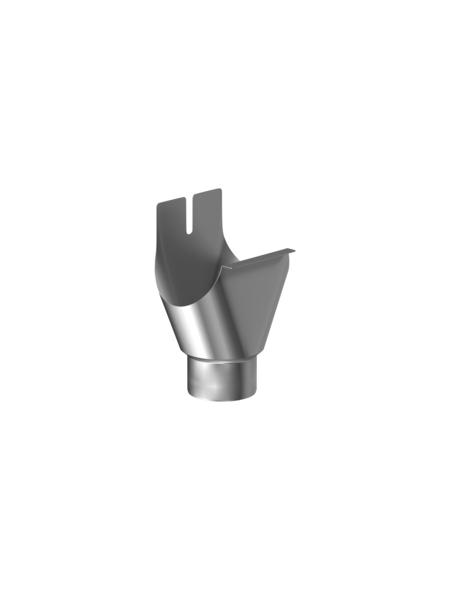 SAREI Einhangstutzen, halbrund, Nennweite: 100 mm, Aluminium