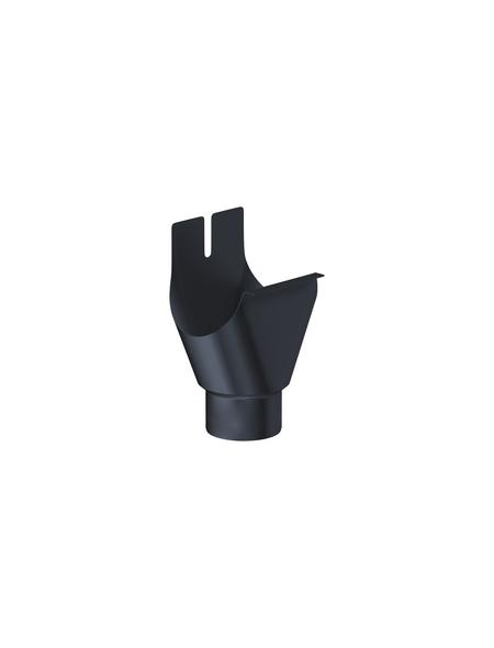 SAREI Einhangstutzen, halbrund, Nennweite: 75 mm, Aluminium