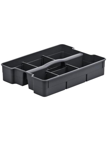 Rotho Einsatz für Boxen »Evo«, BxHxL: 25 x 6,5 x 32,9 cm, Kunststoff