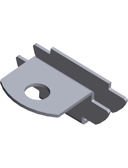 ELEMENT SYSTEM Einsteckhalter, Stahl, silberfarben
