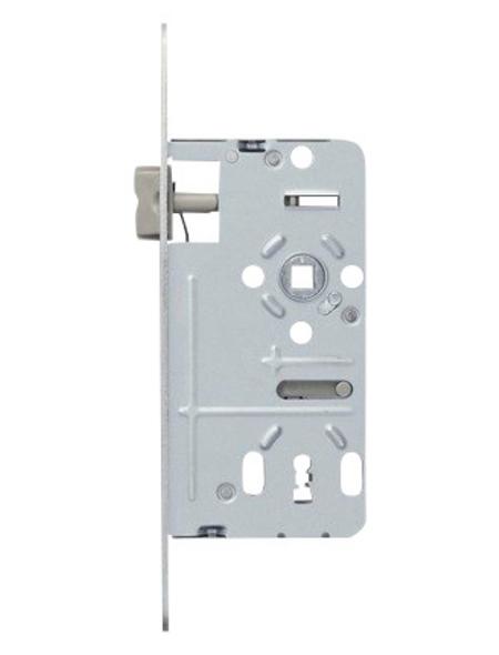 ABUS Einsteckschloss, aus metall|kunststoff, 90 mm Breite, silberfarben