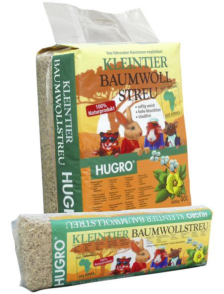 HUGRO Einstreu »Kleintier Baumwollstreu«, 1 Beutel, 4,028 kg