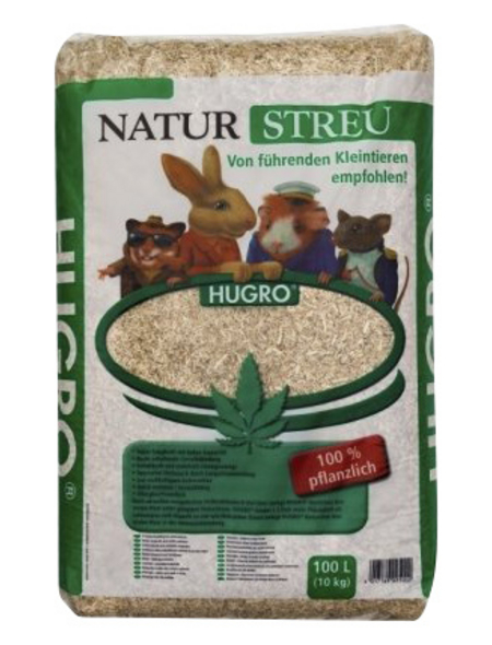 HUGRO Einstreu »Naturstreu«, 1 Beutel, 10,112 kg