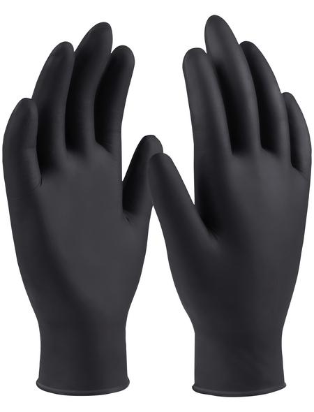CONNEX Einweghandschuh »Nitril«, schwarz