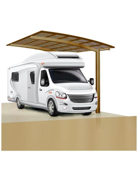 XIMAX Einzelcarport »Portoforte Caravan«, B x T x H: 270,4 x 495,4 x 348 cm, bronzefarben